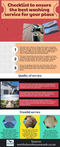 How to choose the best house washing services