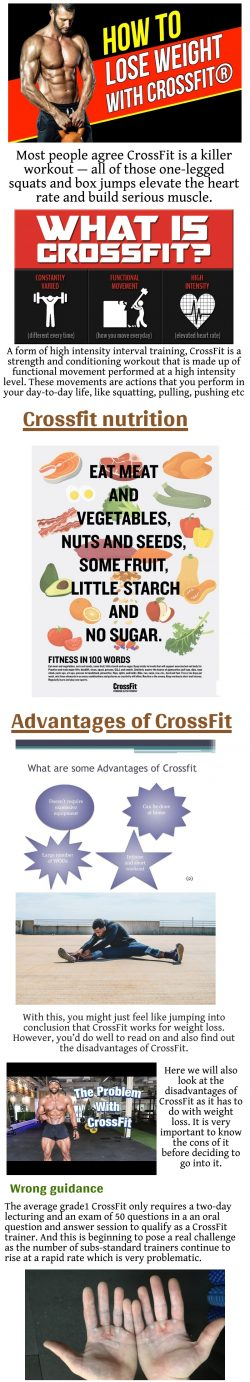 CrossFit Weight Loss Benefits