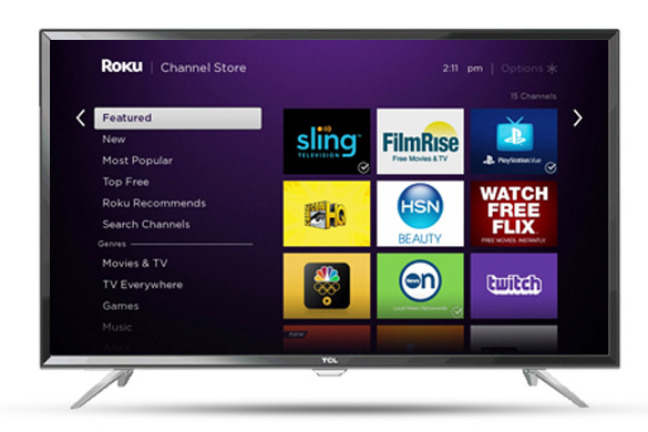 How do I alter my password on the Roku device?