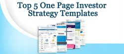 top 5 one page investor strategy templates