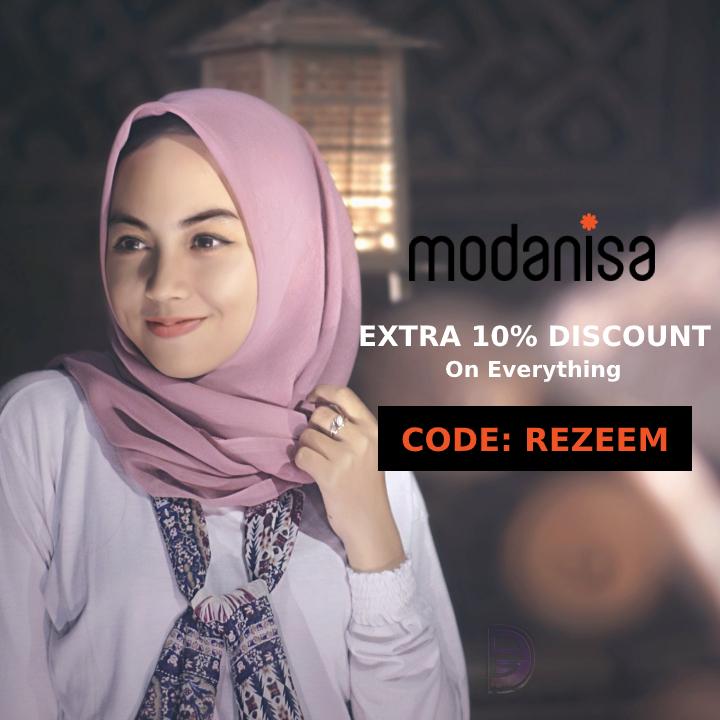 Modanisa Coupon: Enjoy💃 Extra 10% OFF💰 On Everything #Jordan #KSA #UAE