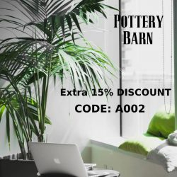"Pottery Barn Extra 15% OFF Coupon Code ""A002"""