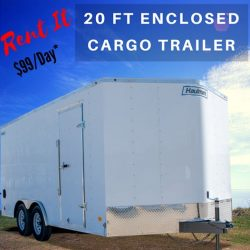 2020 Haulmark Aluminium Exterior – 20ft Enclosed Car Hauler