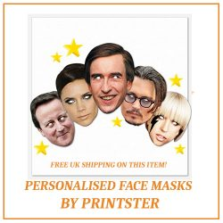 Personalised Face Masks By Printster