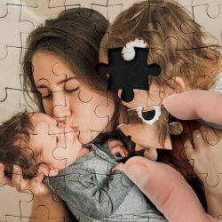 Custom Photo Jigsaw Puzzle Best Gifts- 35-1500 piece