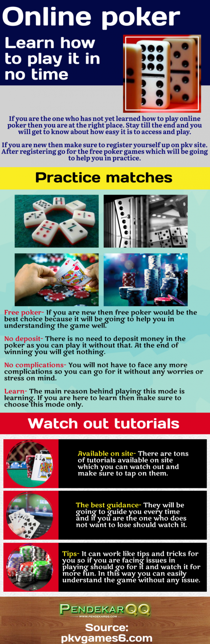 Concentrate on the poker game and its technique