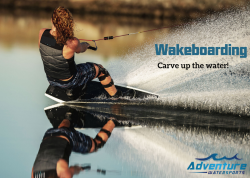 Show Off Your Skills with a Wakeboard