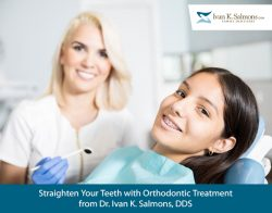 Straighten Your Teeth with Orthodontic Treatment from Dr. Ivan K. Salmons, DDS