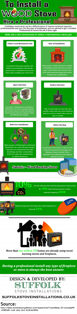 To Install a Wood Stove – Hire a Professional
