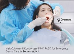Visit Coloman E Kondorossy DMD FAGD for Emergency Dental Care in Somerset, NJ