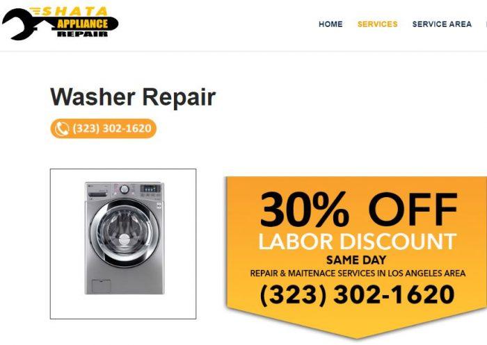 Whirlpool washer repair
