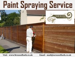 Paint Spraying Service By Nexus of Bath Limited