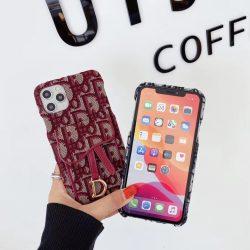 ブランド ディオール アイフォン12/11pro maxケース カード収納 dior iphone 11/11Proケース 女性向け
