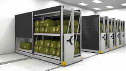 Innovative small parts storage