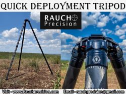 Quick Deployment Tripod At Rauch Precision LLC