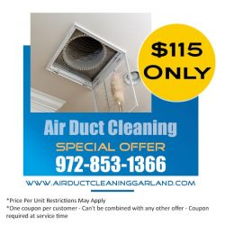 Air Duct Cleaning Garland Texas