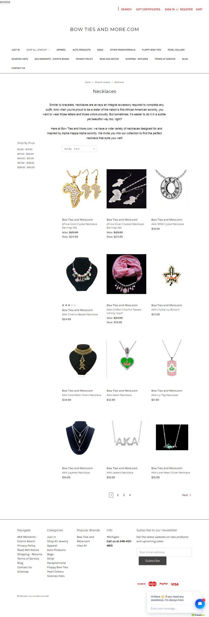 aka Necklaces