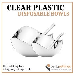 Clear Plastic Disposable Bowls Offer you Plenty of Uses