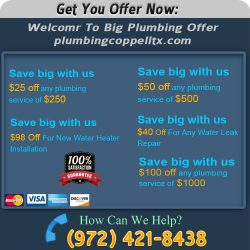Plumbing Coppell TX Near Me
