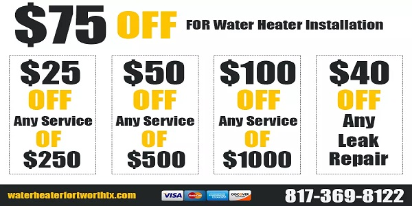 Water Heater Fort Worth TX Near Me