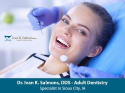 Dr. Ivan K. Salmons, DDS – Adult Dentistry Specialist in Sioux City, IA