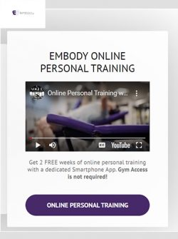EMBODY ONLINE PERSONAL TRAINING