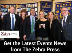 Get the Latest Events News from The Zebra Press