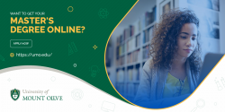 Get Your Online Master's Degree From UMO