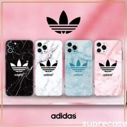 アディダス iPhone12/11/11proケース 男女兼用 Adidas iPhone 11pro maxカバー ブラント
