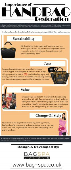Importance of Handbag Restoration