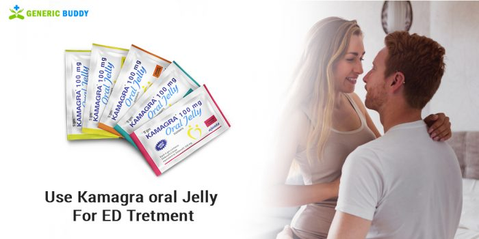 Use Kamagra Oral Jelly For Erectile Dysfunction Treatment
