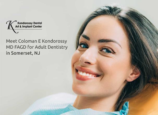 Meet Coloman E Kondorossy DMD FAGD for Adult Dentistry in Somerset, NJ