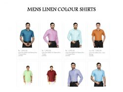 Ramraj Colour Shirts Price | Ramraj Shirts