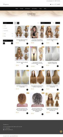 Online blonde wigs usa
