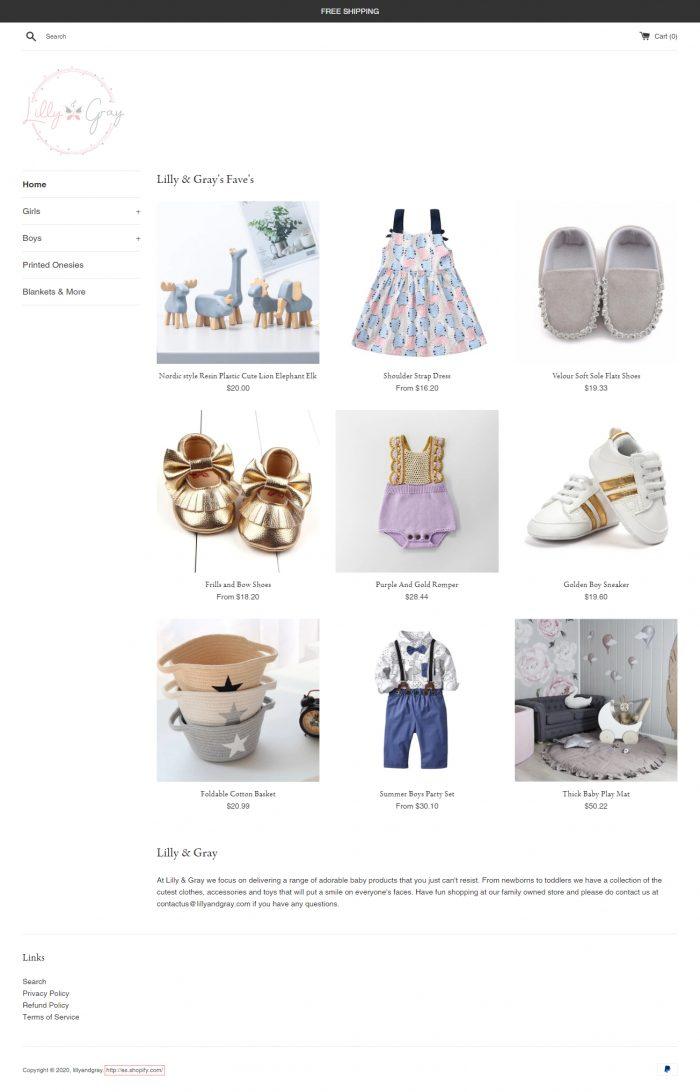 Online Toddler Dresses