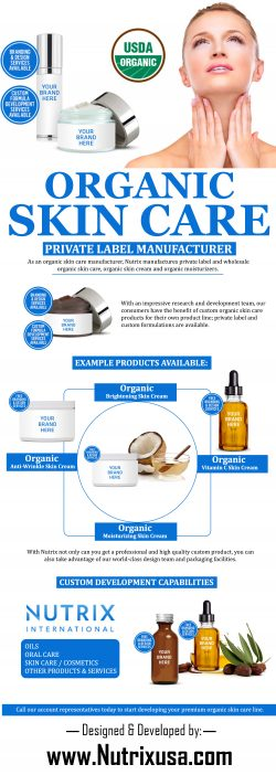 Organic Skin Care – Private Label Manufacturer