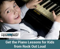 Get the Piano Lessons for Kids from Rock Out Loud