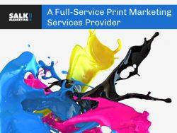 Salk Marketing – A Full-Service Print Marketing Services Provider