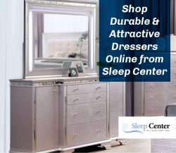 Shop Durable & Attractive Dressers Online from Sleep Center