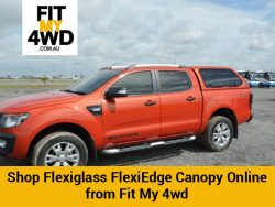 Shop Flexiglass FlexiEdge Canopy Online from Fit My 4wd