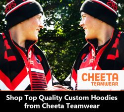 Shop Top Quality Custom Hoodies from Cheeta Teamwear