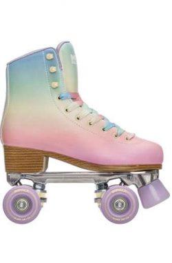 Pastel Pink Roller Skates