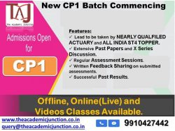 CP1 Overseas Market Discussion By Silky Lamba | Experienced Faculty | Actuarial Science