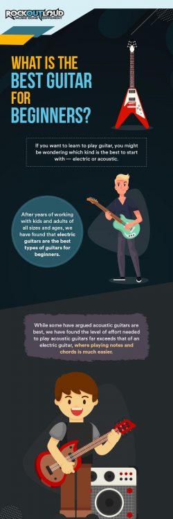 WHAT IS THE BEST GUITAR FOR BEGINNERS?