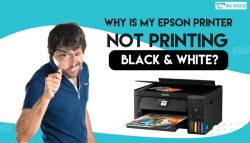 Why is My Epson Printer not Printing Black & White?