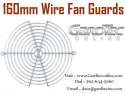 160mm Wire Fan Guards At GardTecOnline