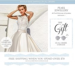 Shop Pearl Jewellery At The Wedding Garter