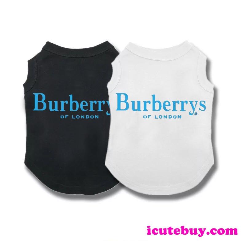 バーバリー ドッグウェア タンクトップ Burberry 犬服 Tシャツ BURBERRY ペットウェア 夏服 小型犬 中 ...