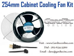 254mm Cabinet Cooling Fan Kit At GardTecOnline