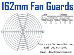 162mm Fan Guards At GardTecOnline